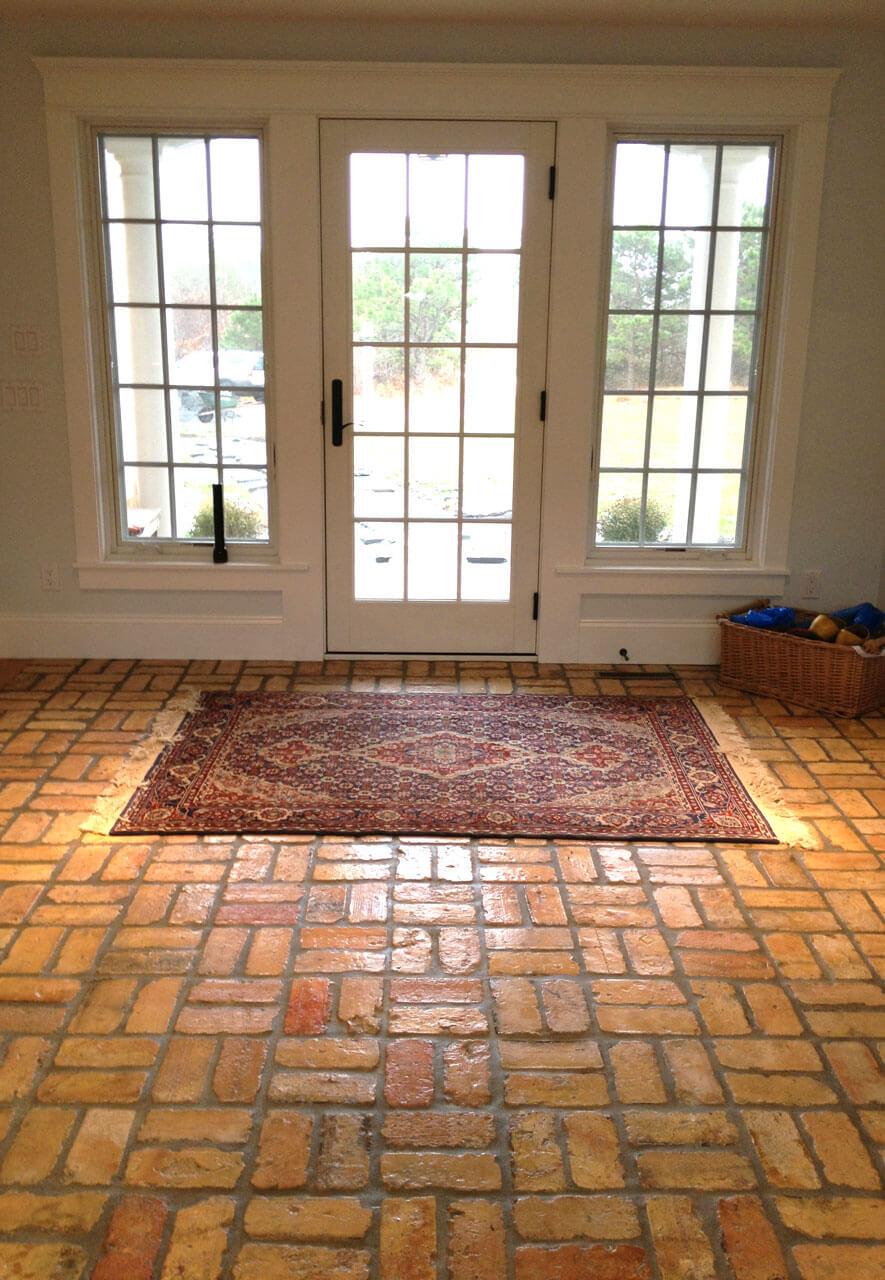 Brick floor tile gallery real brick wall tiles reclaimed thin brick floor reclaimed dailygadgetfo Images