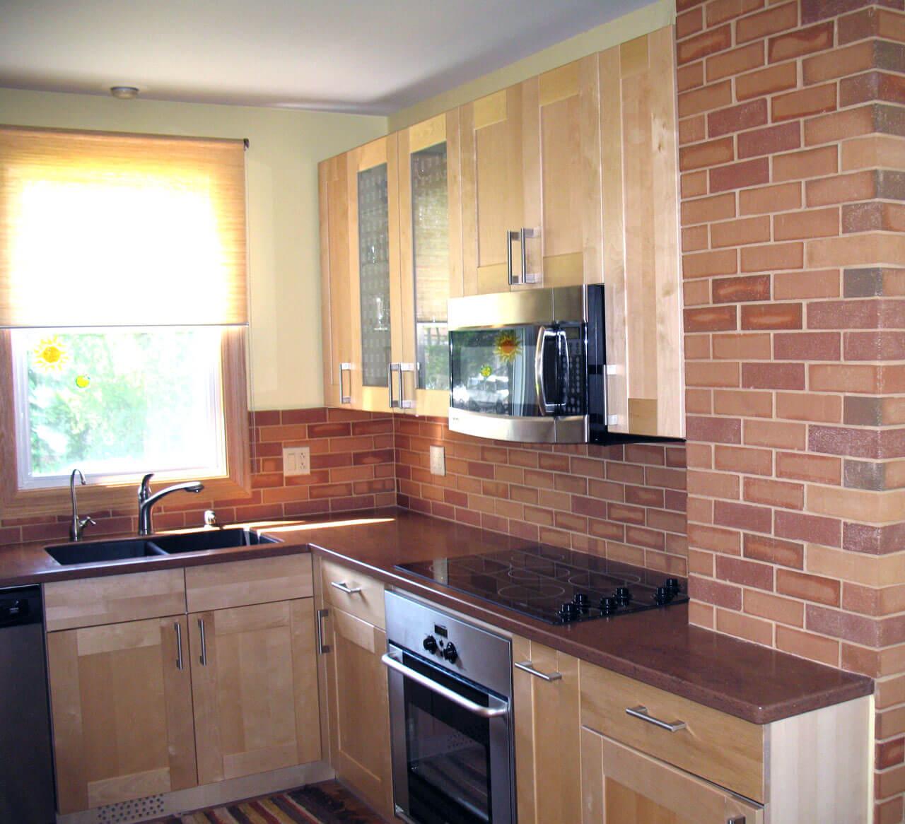 Brick floor tile gallery real brick wall tiles clay thin brick kitchen walls dailygadgetfo Choice Image