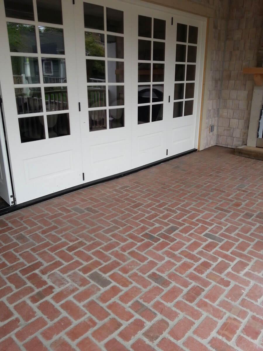 Brick floor tile gallery real brick wall tiles tumbled thin brick floor dailygadgetfo Images