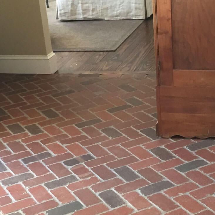 Flooring Tile Brick Look : Thin brick tile flooring paver tiles